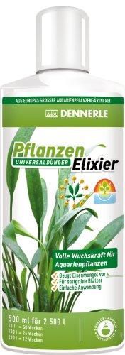 Dennerle Pflanzen Elixier - Universaldünger für Aquarienpflanzen, für sattgrüne Blätter (500 ml)