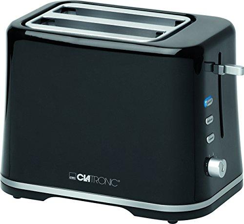 Clatronic schwarz-Silber TA 3554 Toaster