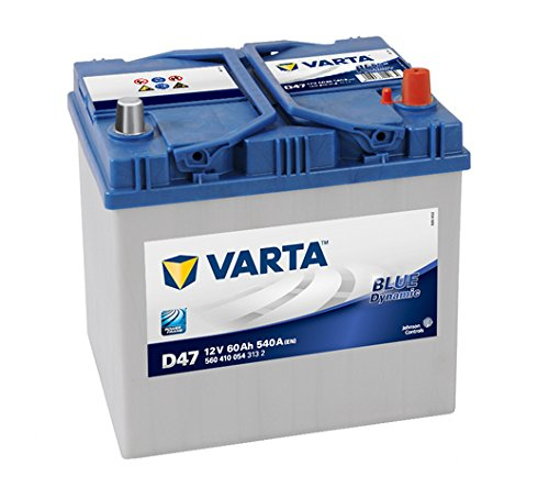 Varta Blue Dynamic D47 Batterie Voitures, 12 V 60Ah 540 Amps (En)