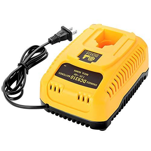 LUSAF 18V DC9310 Battery Charger for Dewalt 7.2V 14.4V NiCad NiMH Battery XRP DC9096 DC9099 DW9099 DW9095 DW9096 DW9098 DC9098 DW9091 DC9091 DW9072 DC9071 DW9061 DE9057 DeWalt 12V Battery Charger