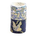 Reeseiy 3 Rollo/Set Cinta Chic Washi Cinta Adhesiva Decorativa Scrapbooking DIY De Agenda, Oficina De Venta De Embalaje De Los Artículos del Uso Diario (Color : Style 3, Size : Size)