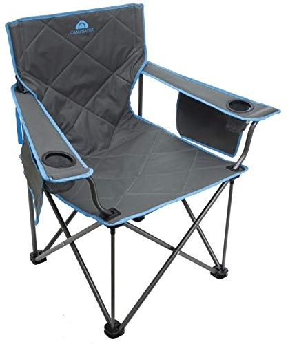 ALPS Mountaineering Campsaver King Kong Chair, Grey/Blue, One Size, 8141541