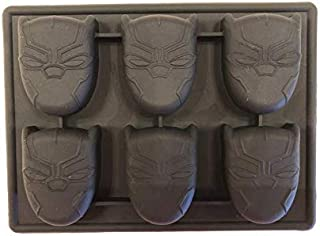 Black Panther Silicone Candy Mold Chocolate Mini Cake Pan