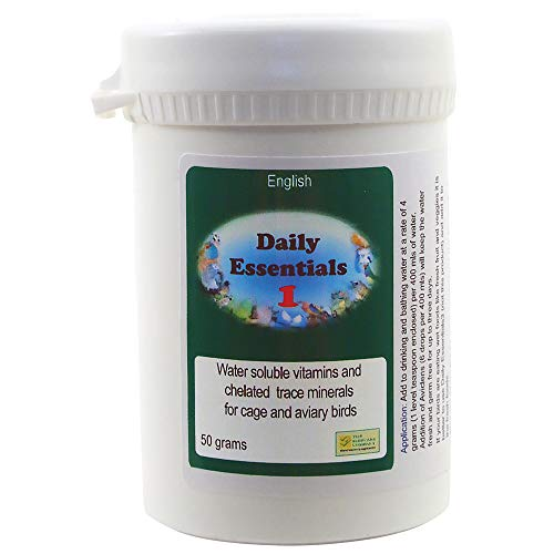 Care Bird Daily Essentials 1 Soluble Multi-Vitamins for Parrots - 50g