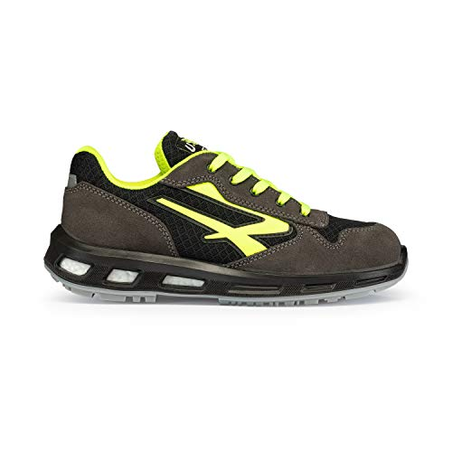 U-POWER Yellow S1p SRC, Zapatos de Seguridad Unisex Adulto, Amarillo (Jaune 000), 42 EU