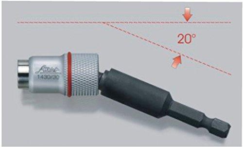 Profi Magnetbithalter Kugelkopf Winkel Magnet Bithalter Bit Halterug für Akkuschrauber Schraubendreher