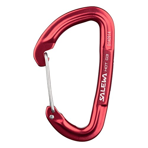 SALEWA HOT G3 WIRE CARABINER Karabiner, RED, UNI