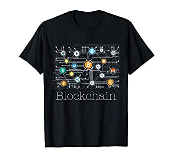 Blockchain Cryptocurrency T-shirt BitCoin Crypto BTC Gift T-Shirt