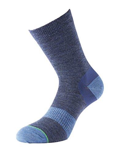 1000 Mile Damen Walking Socken Approach Socks, Dunkelblau, M, 1998NLM