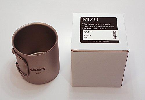 Ninja Prepper Mizu, The Insulated Titanium Mug
