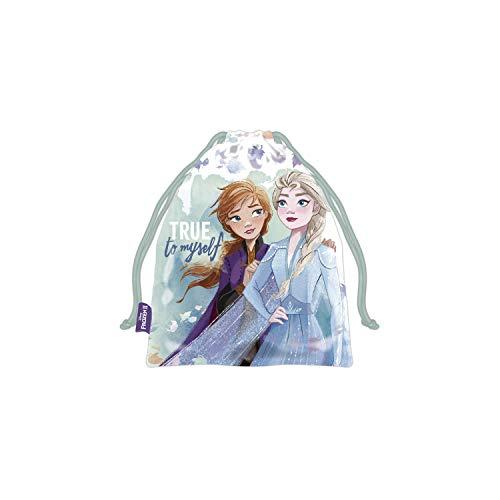 ARDITEX WD13180 Bolsa Merienda 26.5X21.5cm de Disney-Frozen II