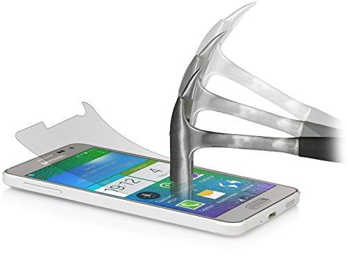 StilGut Bildschirmschutzfolie Sicherheitsglas für Samsung Galaxy Alpha (2er-Pack)