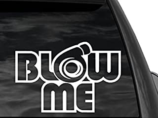 FGD Turbo Blow Me Universal Car or Truck Window Decal sticker 8