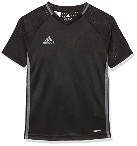 adidas Kinder Shirt Condivo 16 Training Jersey Trikot, Black/Vista Grey, 140