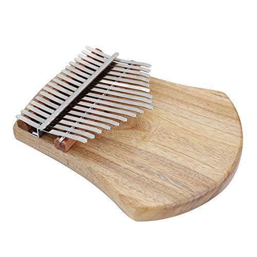 Kalimba, Daumenklavier 17 Keys Kalimba Daumenklavier Kalimba Praktische Holz Mahagoni Korpus Musikinstrument mit Tasche Lernen Buch Tune Hammer (Color : As picture)
