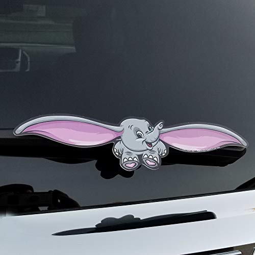 WiperTags Flying Elle The Elephant for Rear Vehicle Wiper Blades