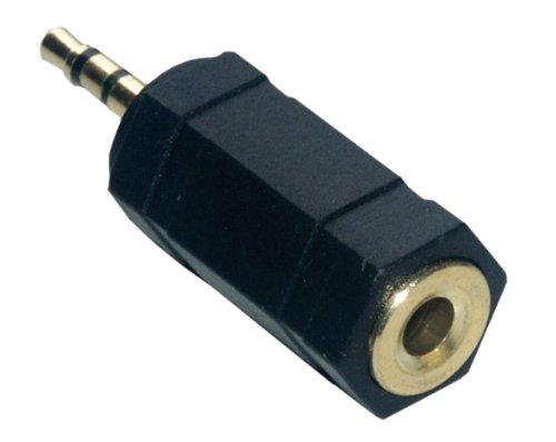 MCL Samar CG-702HQ - Adaptador estéreo (jack hembra de 3,5 a jack macho de 2,5 mm)