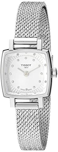 TISSOT Damen Analog Quarz Uhr mit Edelstahl Armband T0581091103600
