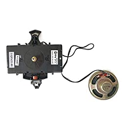 Hermle Kieninger QPA21 / HM354474 Replacement Chiming Quartz Clock Movement by Qwirly - 2114, 2214, 2215 or 2115 and Used for Howard Miller, Sligh, Ridgeway, Seth Thomas Clocks and DYI Clock Kits
