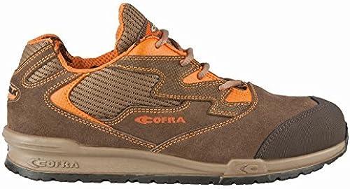 Cofra 78630-000.W40 Chaussures Chaussures de sécurité Gaudini S1 P SRC Taille 40 Marron  les ventes chaudes