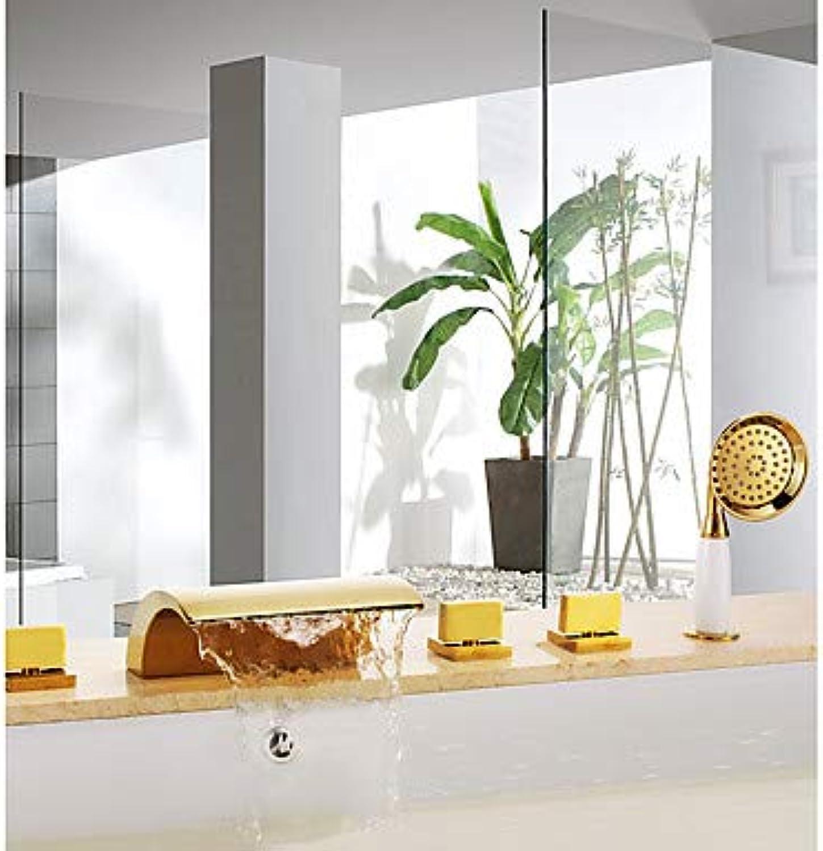Badewannenarmaturen - Professionell Universell Ti-PVD Badewanne & Dusche Keramisches Ventil