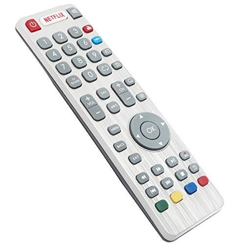 ALLIMITY Mando a Distancia Reemplazar Apto para Sharp Aquos 3D TV LC-43UI8652E LC-43UI8872ES LC-49UI8652E LC-49UI8872ES...