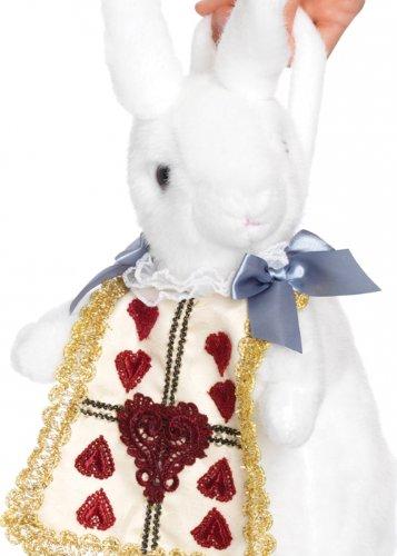 Struts Fancy Dress Sac à Main Miss Wonderland White Rabbit