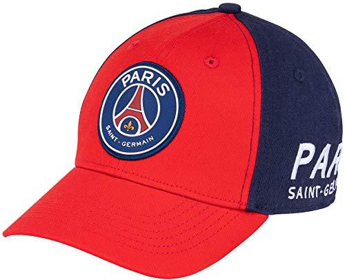 Paris Saint-Germain Schirmmütze für Kinder, Größe einstellbar, Kindergröße, offizielle PSG-Kollektion