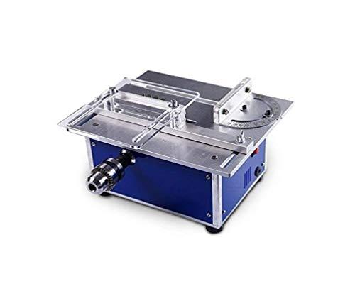 Miniatur Tischkreissäge DIY Holzbearbeitungskettensäge Mit Multifunktions-Polierschneider Und Mini-Polier- Und Schleifmaschinen-Schneidemaschine 12-24V Sieben-Geschwindigkeitsleistung