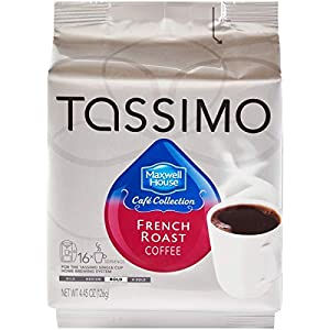 Maxwell House French Roast Coffee, T-Discs