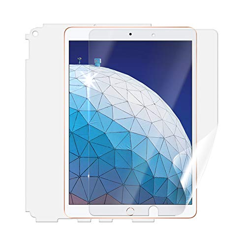 Beschermfolie SCREENSHIELD voor Apple iPad Air Wi-Fi 2019 [2 stuks] - volledige afdekking van het scherm en de achterzijde; geen pantserglas