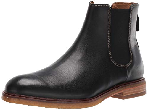 Clarks Men's Clarkdale Gobi Chelsea Boot, Black Leather, 10.5 M US