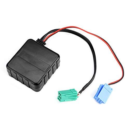 Ladieshow Cable de Audio AUX Auxiliar Accesorios de Coche Bluetooth Apto para Renault