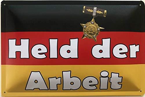 Deko7 - Cartel de Chapa (30 x 20 cm), diseño con Texto en alemán