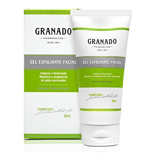 Gel Esfoliante Facial, Granado, Verde, 80g