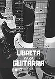 Libreta Para Guitarra: Planificador Semanal de 52 Semanas | 105 páginas ( 18 x 26cm ) |Planifica y Organiza tus Clases de Guitarra y Mejora como Guitarrista.