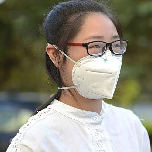 EdBerk74 Máscara de polvo y niebla industrial antipolvo de 7 capas 9002 para uso de la cabeza, productos de salud y belleza para el cuidado personal