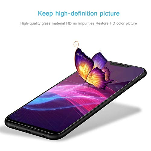 PaceBid [2 Stück] Huawei Honor Play Panzerglas Schutzfolie, Tempered Glass [9H Härte][Anti-Fingerabdruck][Ultra-klar] Panzerglasfolie Displayschutzfolie Für Huawei Honor Play - 6