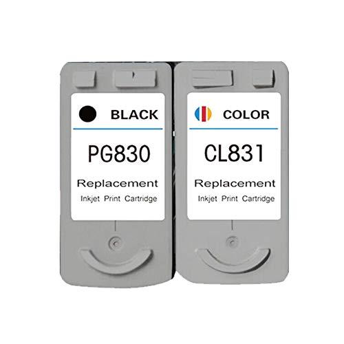 Cartuchos de tinta PG540 CL541 de alto rendimiento para impresora Canon IP1180 1880 1980 MP198 de color negro y negro y color