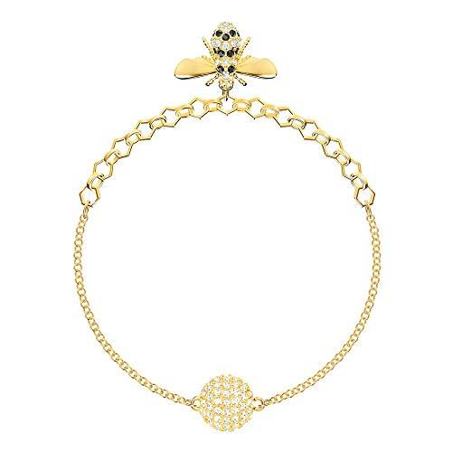 Swarovski Damen-Strangarmbänder Edelstahl Kristall 5380077