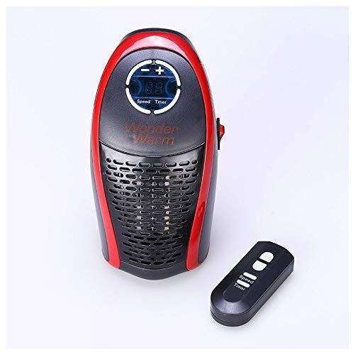 CNRGHS Mini-radiator, elektrisch, draaibaar, elektrisch, automatische verwarming, automatische verwarming, kleine luchtairconditioner voor gebruik op kantoor, stil, veilig en mooi.