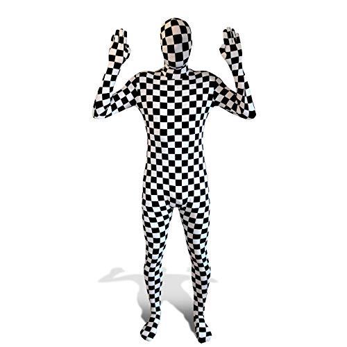 Morphsuits - Echiquier Pour Hauteur 180-186 Cm - Taille Xl
