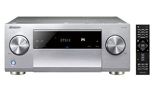 Pioneer 9.2 AV Receiver, SC-LX701, 185 Watt/Kanal, Class-D-Verstärker, 4K UltraHD Durchleitung, Dolby Atmos, DTS:X, WLAN, Bluetooth, Hi-Res Streaming, Musik Apps, Internet Radio, Multiroom, Silber