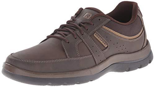 Rockport Men's Get Your Kicks Blucher Brown Sneaker 10.5 W (EE)-10.5 W