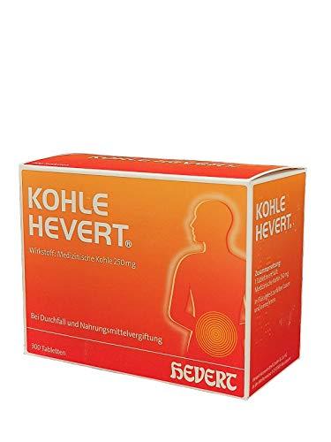 KOHLE Hevert Tabletten 300 St Tabletten