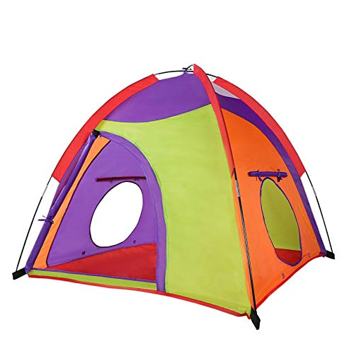 Kids Play Tent Colourful Curvy Patent Indoor Outdoor Childrens Playhouse Play Toys Teepee Tent for...