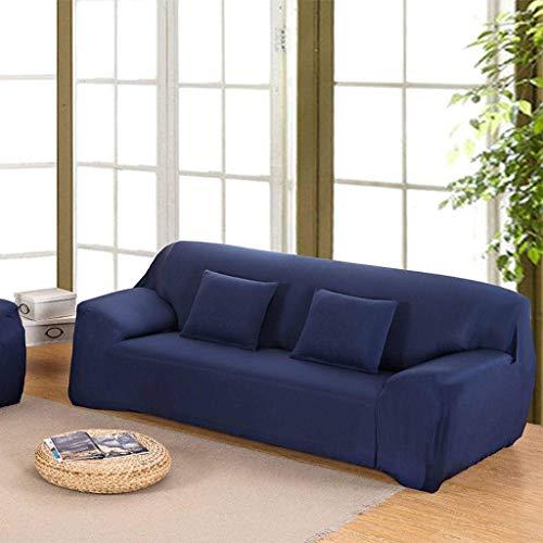 DSDD Stretch Couch Sofabezug, einfarbige Sofabezug Anti-Rutsch-Couchbezüge Stuhl Sofabezug für Sofaschutz Möbel Protector Arm Chair Slip Bezug-N-2 Sitzer 145-185cm