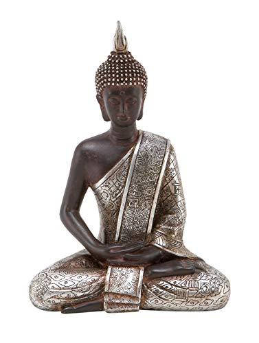 Deco 79 Thai Buddha Meditating Peace Harmony Statue, 8'H