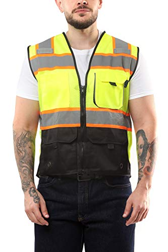 Kolossus High Visibility Safety Vest with Pockets
