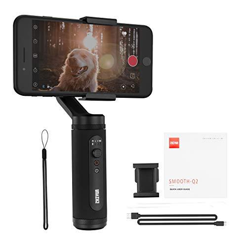 ZHIYUN Official Smooth Q2 モバイルジンバル スタビライザー 手持ち コンパクト 電動 手ブレ防止